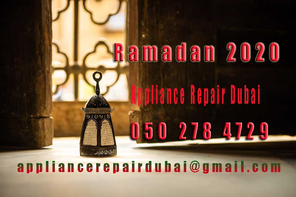 Blessed Ramadan Appliance Repair Offer