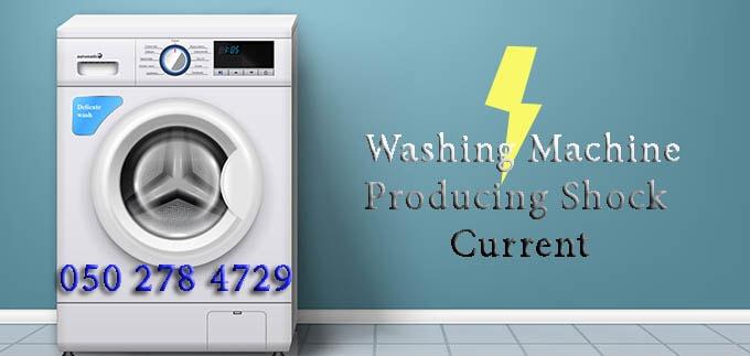 Washing Machine Producing Current Shock